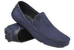 Mokasyny buty wsuwane BADURA 3153 Granatowe