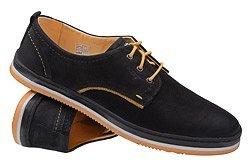 Półbuty KRISBUT 4604-4-1 Czarne Sneakersy
