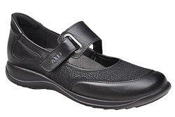 Półbuty na rzepy buty AXEL Comfort 1576 Czarne