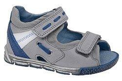 Sandałki dla chłopca KORNECKI 3725 Popielate