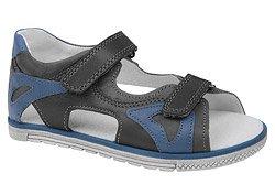 Sandałki dla chłopca KORNECKI 3748 Grafitowe