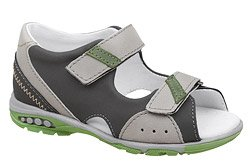 Sandałki dla chłopca KORNECKI 6167 Grafitowe