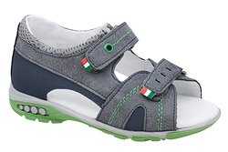 Sandałki dla chłopca KORNECKI 6313 Granatowe L20