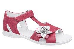 Sandałki dla dziewczynki KORNECKI 4323 Fuxia Różowe