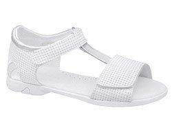 Sandałki dla dziewczynki KORNECKI 6321 Białe