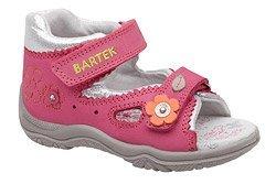 Sandałki na rzepy BARTEK 11068-0R9 Różowe