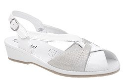 Sandały COMFORTABEL 710817-3 Białe