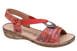 Sandały COMFORTABEL 710954-4 Czerwone