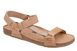 Sandały OTMĘT 415CP Beż-Brąz SCH69 NaturForm Fussbett
