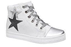 Sneakersy Trzewiki KORNECKI 6146 Białe Srebrne nieocieplane