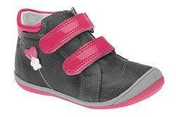 Trzewiki nieocieplane buty KORNECKI 4654 na rzepy