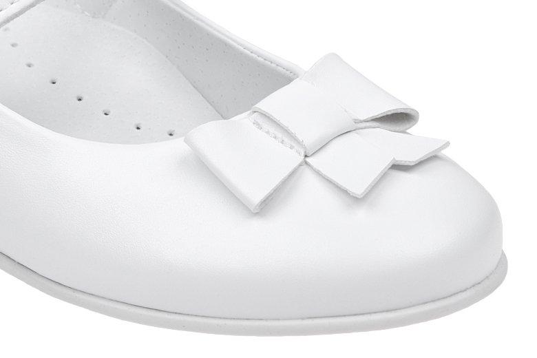 8a913c925c20dc Balerinki buty komunijne KORNECKI 6097 Białe - NeptunObuwie.pl