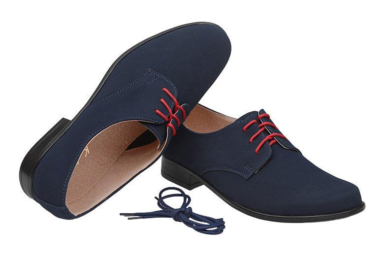 790a556b Półbuty komunijne wizytowe buty KMK 99 Granatowe N - NeptunObuwie.pl