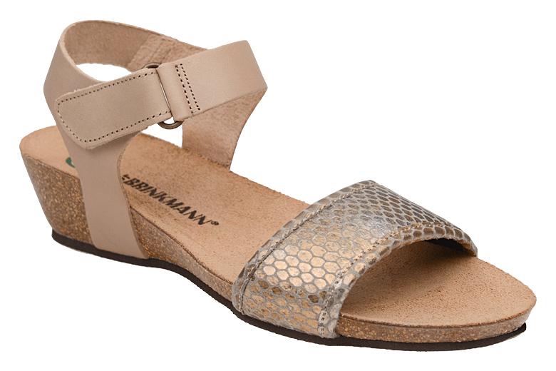 bce4367446b49 Sandały buty Dr Brinkmann 710784-8 Beżowe - Sklep NeptunObuwie.pl