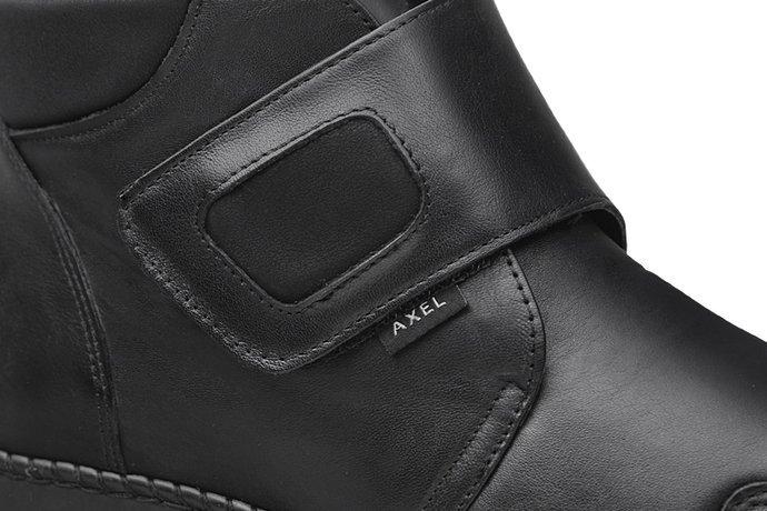 Botki AXEL Comfort 1726 Czarne H na Haluksy