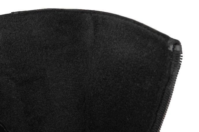 Botki VERONII 3578 Czarne ocieplane Kornecki