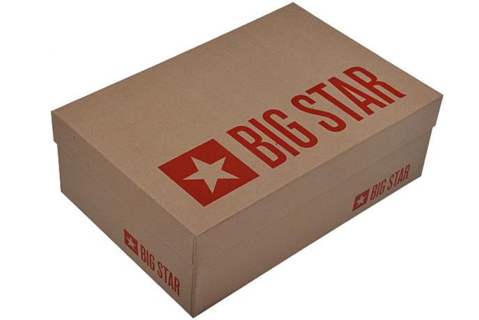 Czółenka Szpilki BIG STAR U274202 Czarne