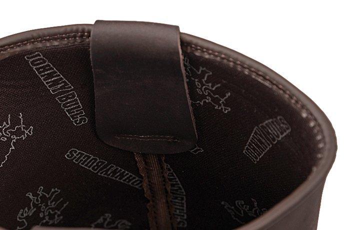 Hiszpańskie Kowbojki JOHNNY BULLS 4829 Brązowe