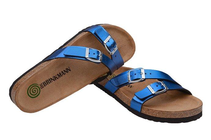 Klapki Dr Brinkmann 701184-5 Niebieskie