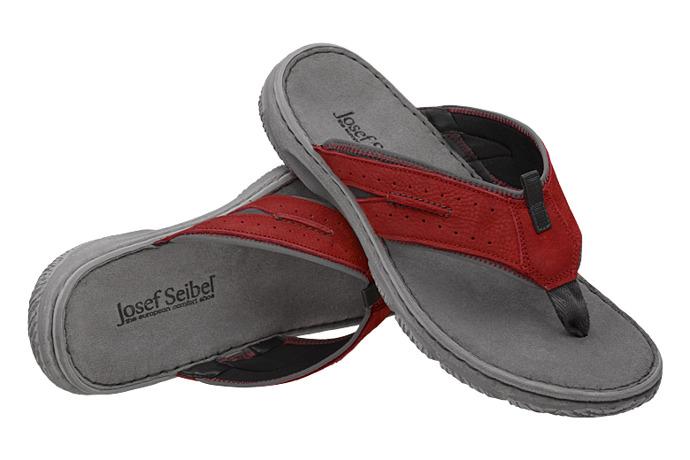 Klapki Japonki JOSEF SEIBEL 27601 Carlo 01 Czerwone