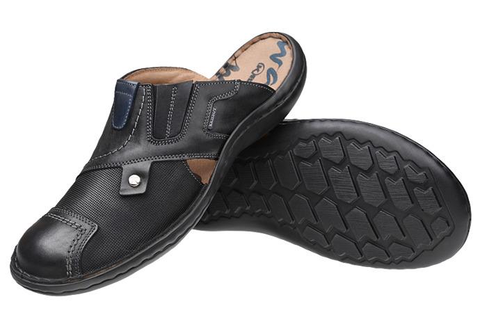 Klapki buty KRISBUT 1132-4-9 Czarne