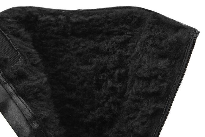 Kozaczki zimowe KORNECKI 6026 Czarne ocieplane