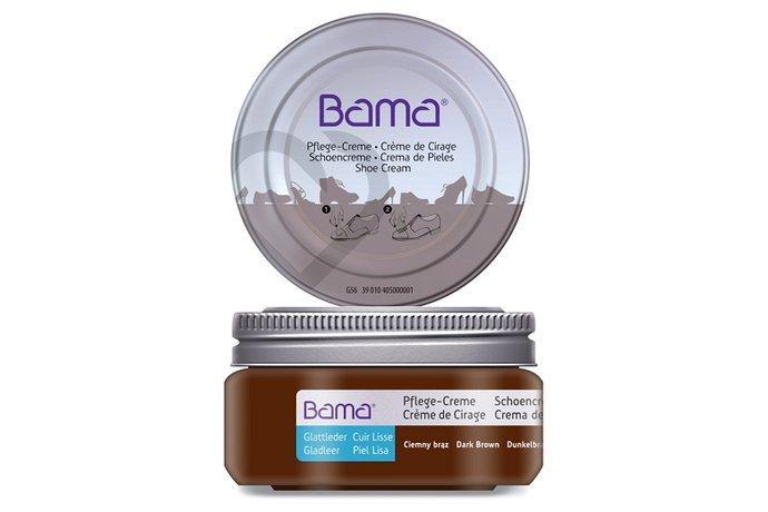 Krem do obuwia BAMA Premium w słoiczku 033 Ciemny Brąz