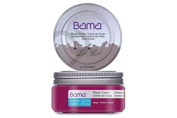 Krem do obuwia BAMA Premium w słoiczku 185 Fuksja