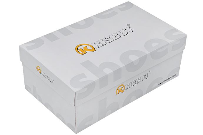 Półbuty KRISBUT 5201-2-9 Granatowe sznurowane