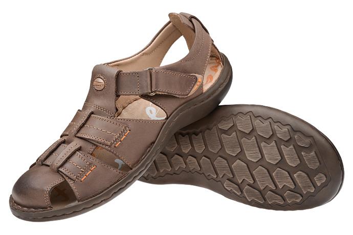 Półbuty Sandały KRISBUT 1108A-4-1 Beż-Brąz