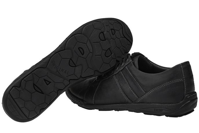 Półbuty buty KACPER 1-4237-499 Grafitowe