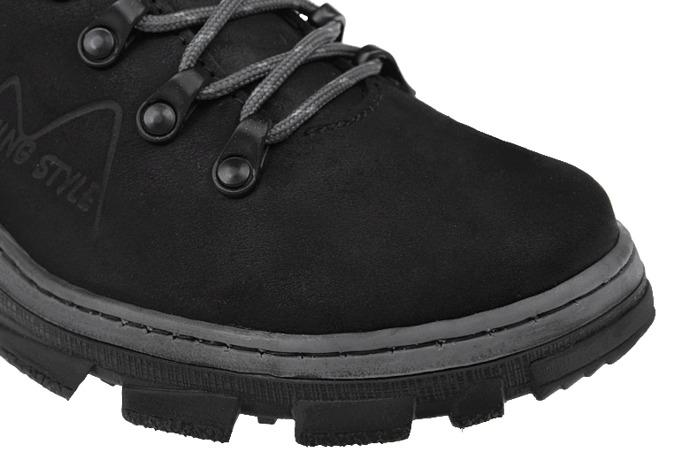 Półbuty buty trekkingowe KORNECKI 1392 Czarne