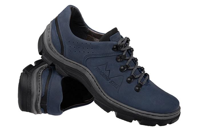 Półbuty buty trekkingowe KORNECKI 1392 Granatowe