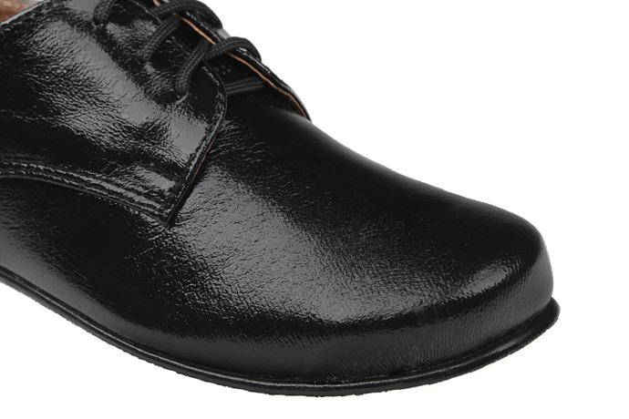 Półbuty eleganckie Lakierki buty KMK 99 Czarne