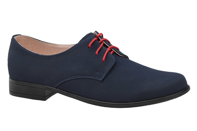 Półbuty komunijne wizytowe buty KMK 99 Granatowe N