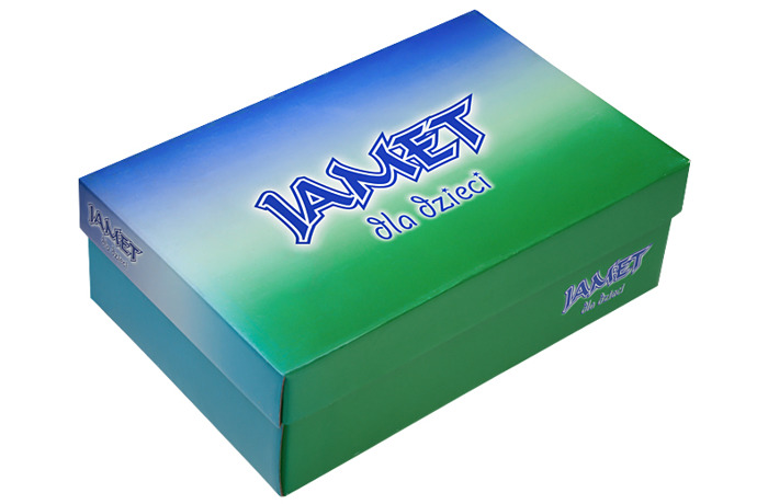 Półbuty na rzepy skóra JAMET 239