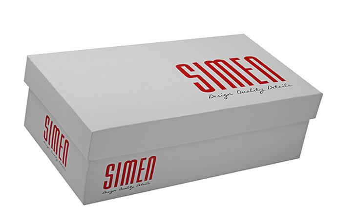 Półbuty wsuwane Slip On SIMEN 0106 Czarne