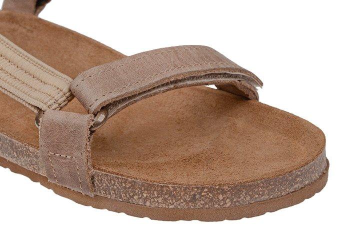 Sandały OTMĘT 405CP Beżowe NaturForm Fussbett