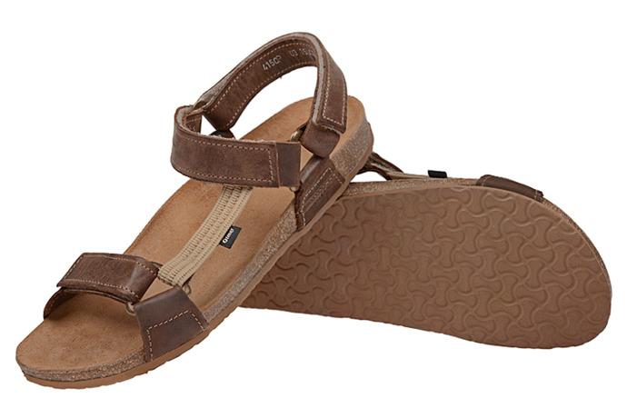 Sandały OTMĘT 415CP Brązowe NaturForm Fussbett