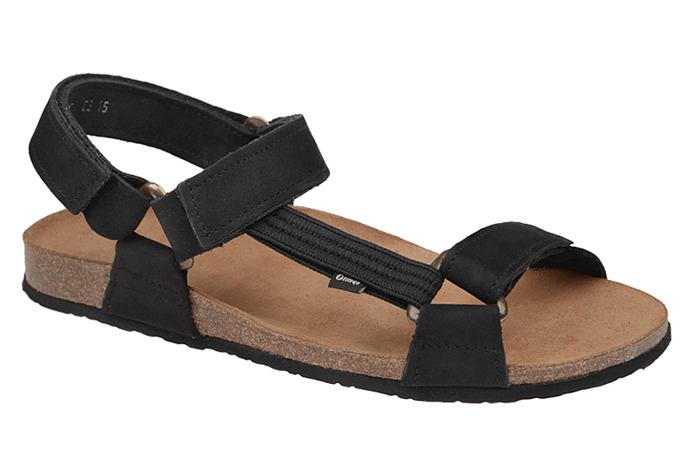 Sandały OTMĘT 415CP Czarne NaturForm Fussbett