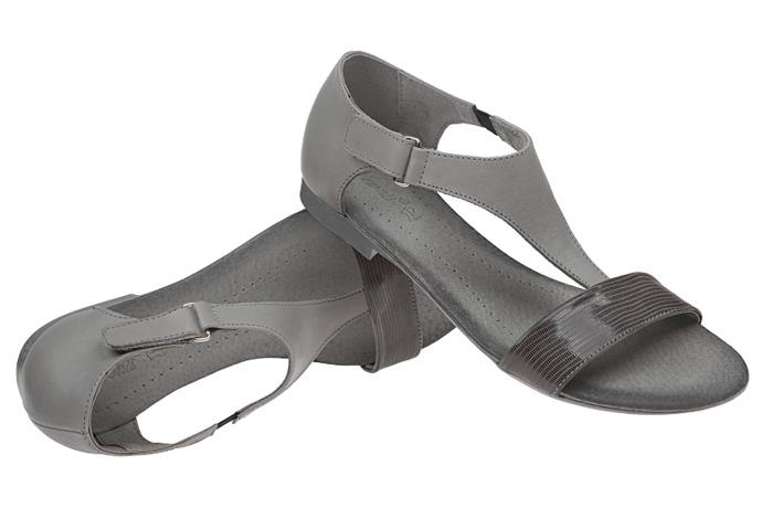 Sandały damskie VERONII 5007 Popielate