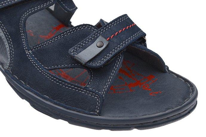 Sandały męskie KRISBUT 1099-2-1 Granatowe