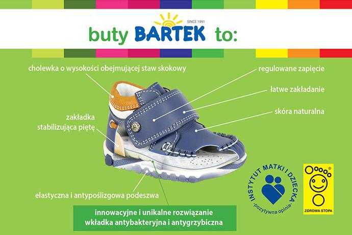 Trzewiki nieocieplane buty BARTEK 81812