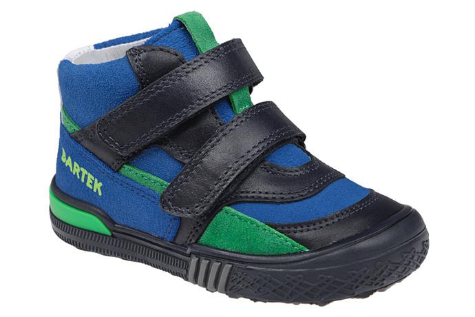Trzewiki nieocieplane buty BARTEK 91756 Granatowe